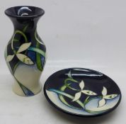 A Moorcroft Pottery vase, painted in the Twenty Winters pattern, designed by Nicola Slaney, shape