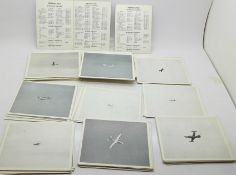 A set of Episcope Cards-Pack T, Test Photographs of Training List Aircraft