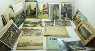 A collection of postcards, early 20th Century