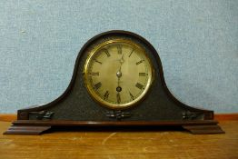 An Edward VII Page Keen & Page Ltd., Plymouth mahogany timepiece