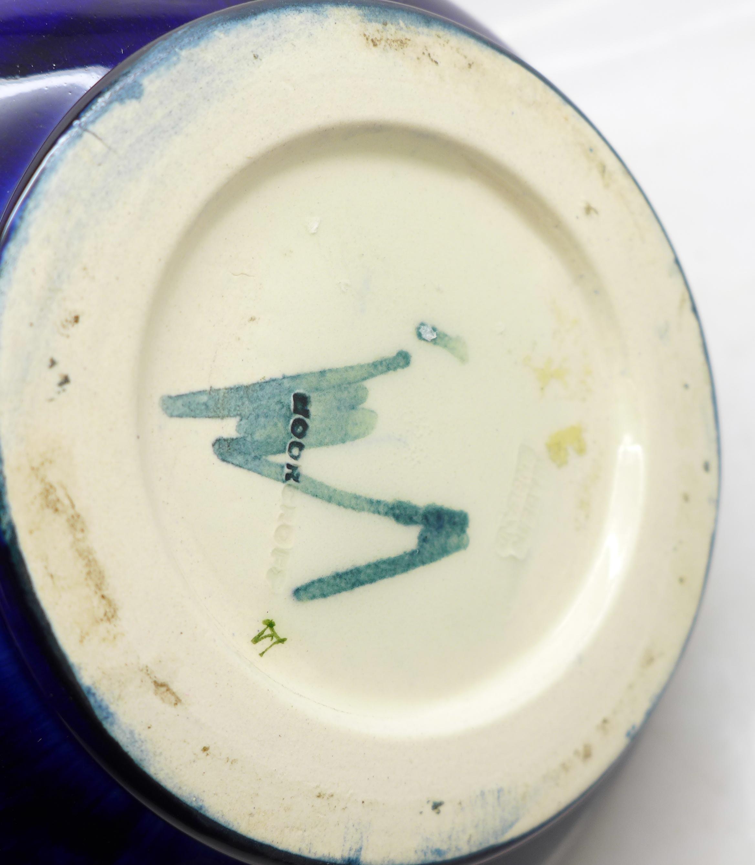A Moorcroft clematis squat vase, 98mm - Image 5 of 5