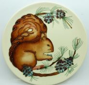 A Moorcroft Year Plate, Second Series Fourth Edition 1995, Limited Edition, 172/500, with box and