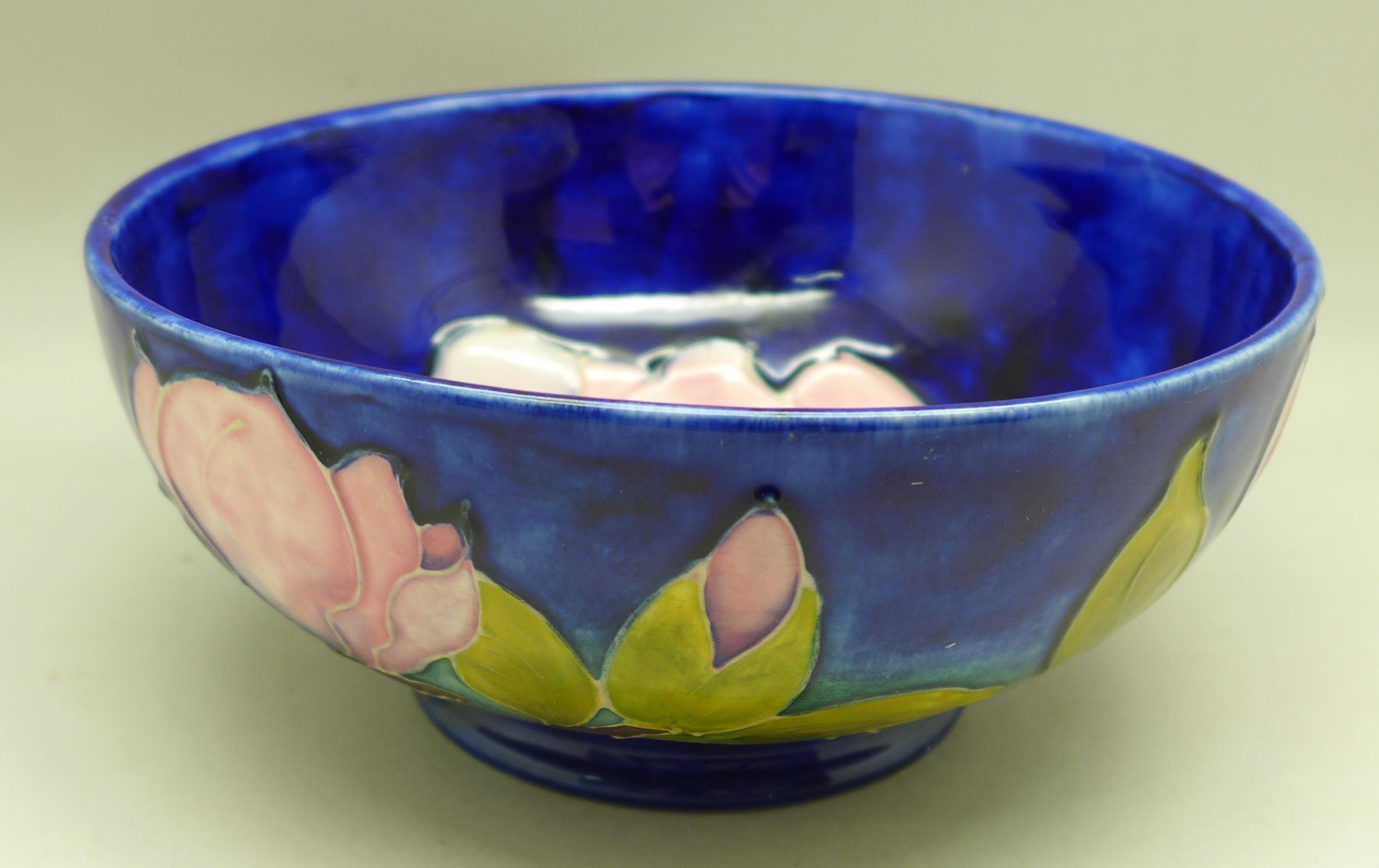 A Moorcroft bowl, 16cm diameter