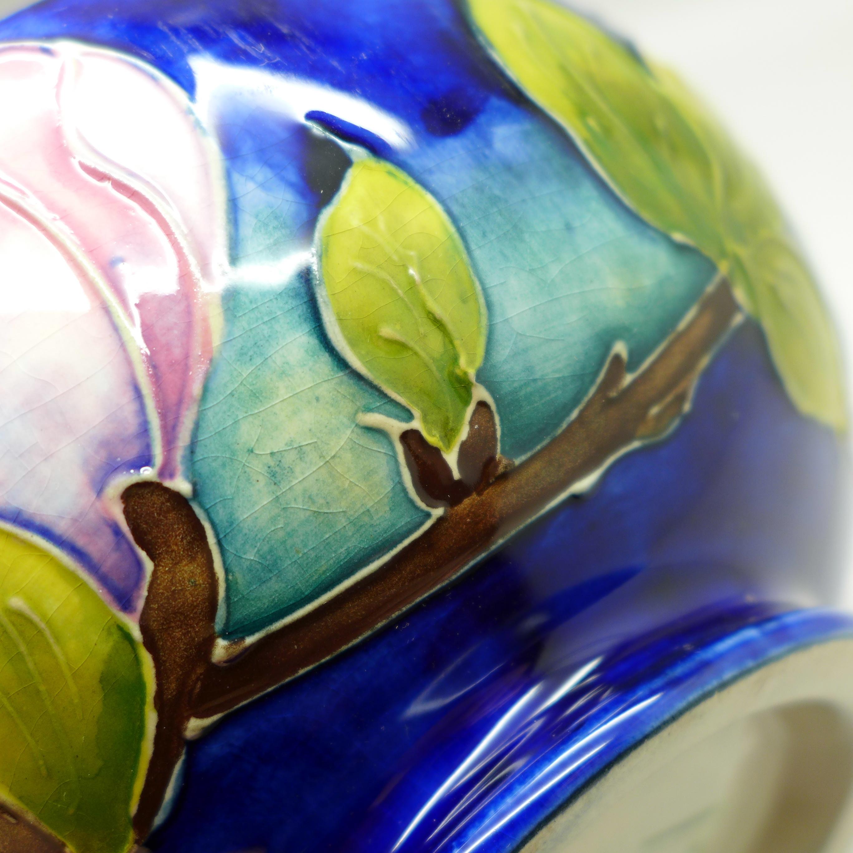 A Moorcroft bowl, 16cm diameter - Image 7 of 7