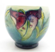 A Moorcroft arum lily vase, 82mm