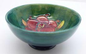A Moorcroft freesia bowl, 11cm diameter