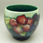 A Moorcroft vase, with impressed mark and signed on the base, height 113mm