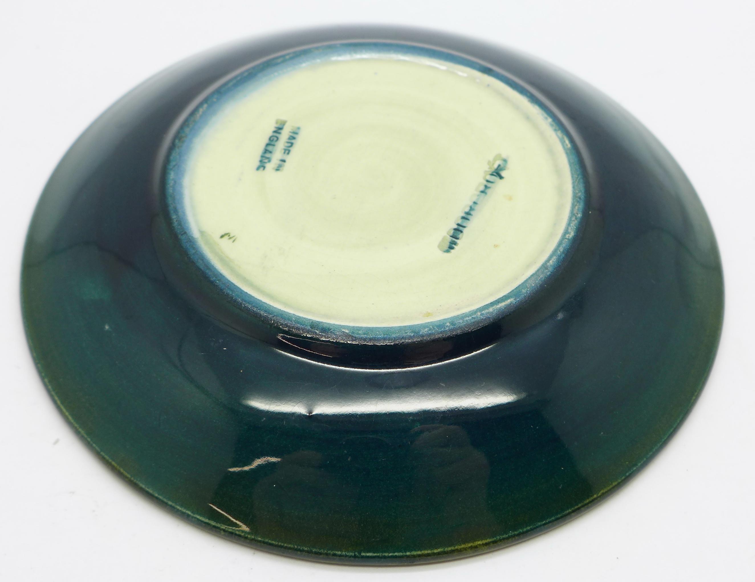 A Moorcroft dish, 11.5cm diameter - Image 4 of 4