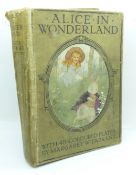 One volume, Alice's Adventures in Wonderland, with 48 coloured plates, 1922
