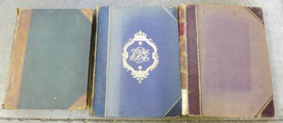Three volumes; Queen Victoria, Her Life and Empire printed by Marquis of Lorne, English Mechanic,