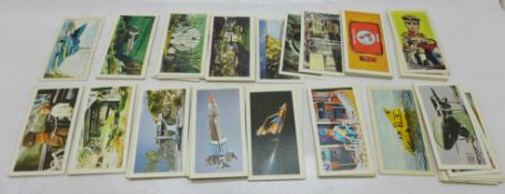 Two sets of collectors cards, Gerry Anderson, full set of Stingray Cadet Sweets and Thunderbirds
