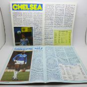 Eight signed Aston Villa home football programmes including Manchester City, Chelsea, Everton