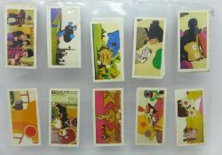 The Beatles; fifteen Primrose Confectionary Yellow Submarine cigarette cards