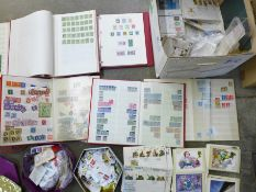 Stamps; large GB collection, albums, covers, etc.