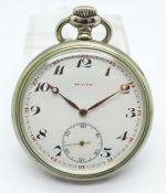 A Zenith Grand Prix pocket watch, Paris 1900