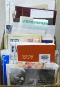 Stamps; worldwide stamps in albums and on covers, includes presentation packs, club books, etc.