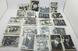 The Beatles chewing gum cards in black and white, T.C.G., USA, (94), some a/f and with writing