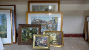 Doreen Hunt, Backyard Sunflower, mixed media, 69 x 48cms, Grand Hotel Excelsior Vittoria, pastel, 66