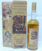 One bottle, Glenmorangie Single Highland Malt Scotch Whisky, 10 years, 70cl, with presentation tin