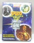 An album of Tazo collector's cards, The Star Wars Trilogy Edition
