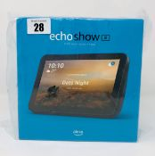 """A boxed as new Amazon Echo Show 8 8"""" Smart Display with Alexa (Box sealed)."""