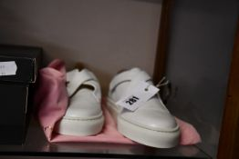 A pair of as new Camilla Elphick sneakers (Size unknown - possibly UK 4).