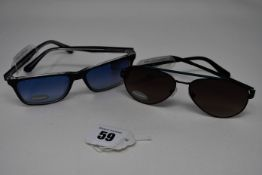 Two pairs of as new Guess sunglasses (RRP £80 and £90).