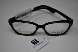 A pair of as new Paul & Joe glasses frames with clear glass (RRP £230).