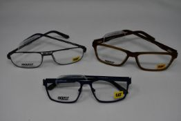 Eight pairs of as new Caterpillar glasses frames with clear glass to include CTO Twinthread, CTO