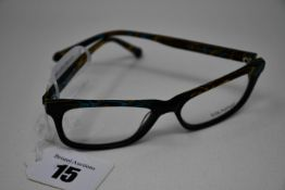 A pair of as new Vanni glasses frames with clear glass (RRP £240).