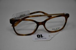 A pair of as new Paul & Joe glasses frames with clear glass (RRP £240).