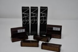 Three NARS Natural Radiant Longwear Foundation Santa Fe (30ml) and a quantity of Hourglass Veil