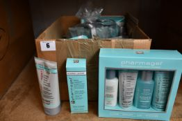 A quantity of as new Pharmagel cosmetics to include one Rejuvenating Face & Body Regimen, one