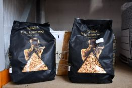 Nine packs of ItalWax Full Body Wax Luxury Edition (1kg, Exp: 28/02/23).