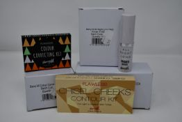 A quantity of various boxed as new Barry M cosmetics to include Chisel Cheeks Contour Kits, All