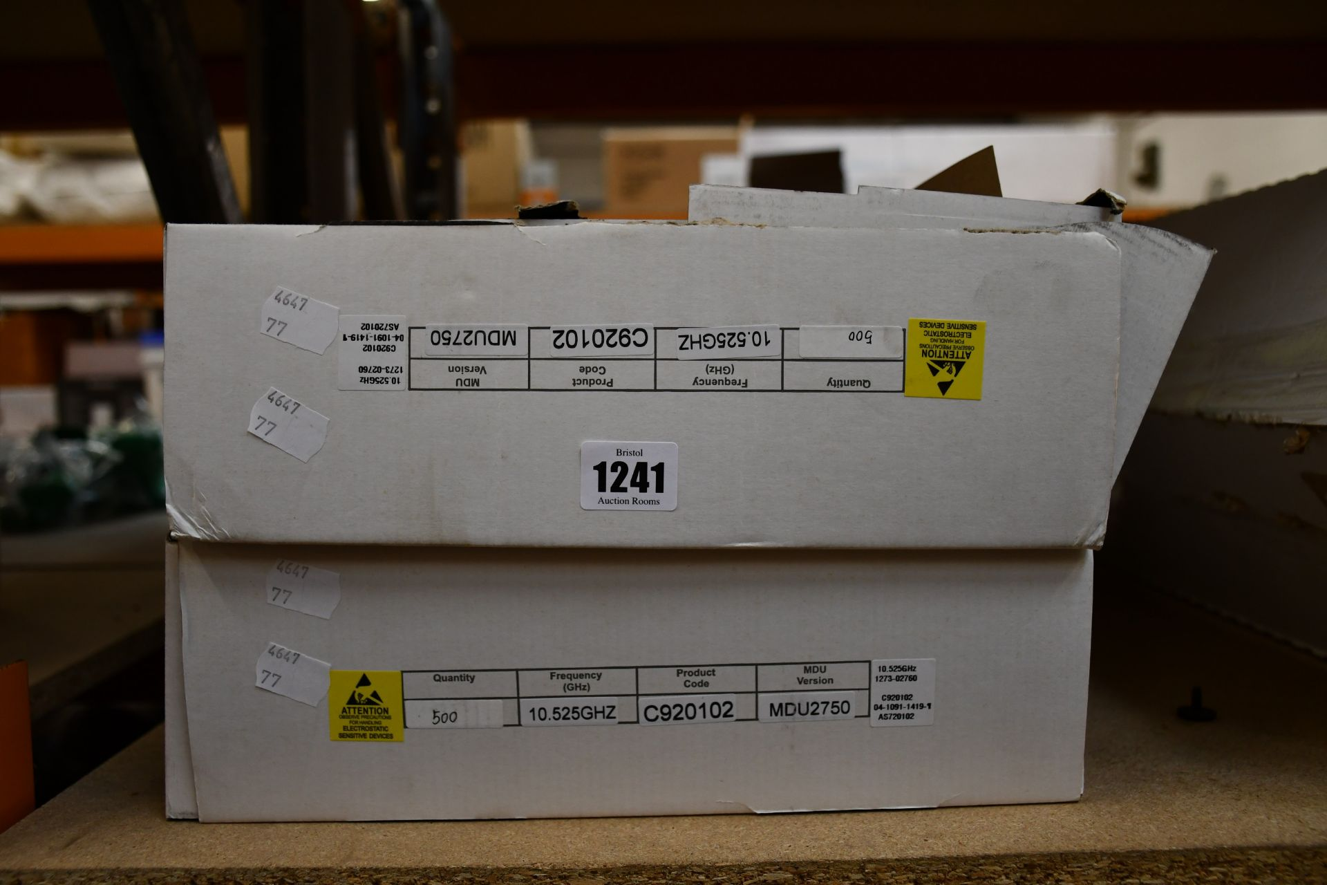 Lot 1241 - A large quantity of boxed as new Microwave Solutions microwave dopplers sensor modules (Code: