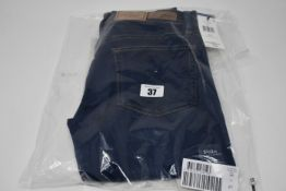 A pair of as new Ralph Lauren The Tompkins super skinny blue jeans (Size 27).