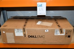 A pre-owned Dell PowerEdge R240 1U Rack Server (Serial: 3QY4V43) (Hard drives removed), a pre-