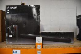 One boxed Yamaha YAS-209 Soundbar.