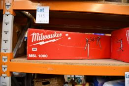 One boxed as new Milwaukee MSL1000 Universal Mitre Saw Stand.