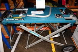A pre-owned Makita mitre saw stand (WST01N).
