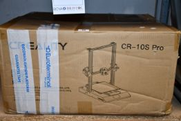 One boxed Creality CR-10S Pro 3D Printer.
