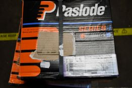 Two boxed as new Paslode Series-i Roundrive (Size: 3,1x90mm smooth) and One Paslode Series-i