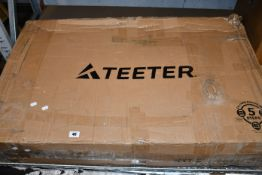 One boxed Teeter NXT-S Inversion Table.