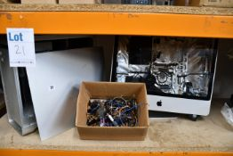 A pre-owned Apple Power Mac G5 (HDD removed, damage to casing) (Serial: CK521H1PSPX) and a pre-owned