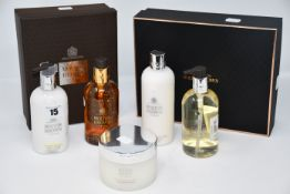 A quantity of assorted as new Molton Brown toiletries to include one Deep Conditioning Mask (200ml),