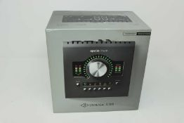 A pre-owned Universal Audio Apollo Twin MkII Quad Thunderbolt Audio Interface (Boxed with power