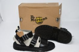 One as new Dr Martens Gryphon black size UK 6.