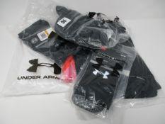 One as new Under Armour Women's HeatGear Short Sleeve size S (1328964). One as new Under Armour