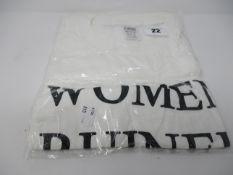 "Ten white ""Women Ruined My Life"" t-shirt size L. Ten white ""Women Ruined My Life"" t-shirt size XL."